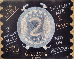 The Growler Guys - SE Portland 2nd Anniversary. (image courtesy of The Growler Guys)