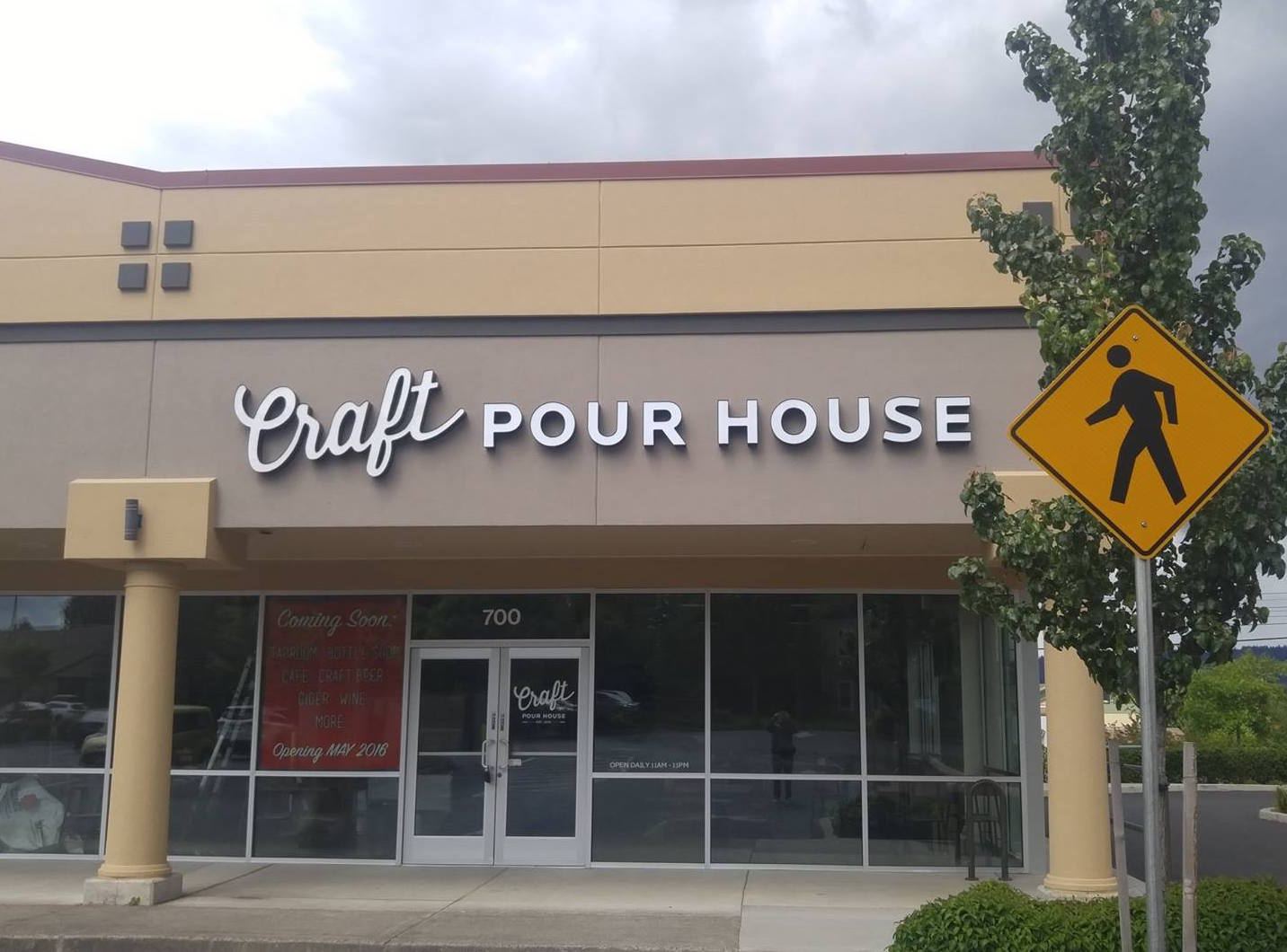 The recently opened Craft Pour House in Beaverton, Oregon. (image courtesy of Craft Pour House)
