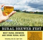 2nd Annual Rural Brewer Fest Flyer