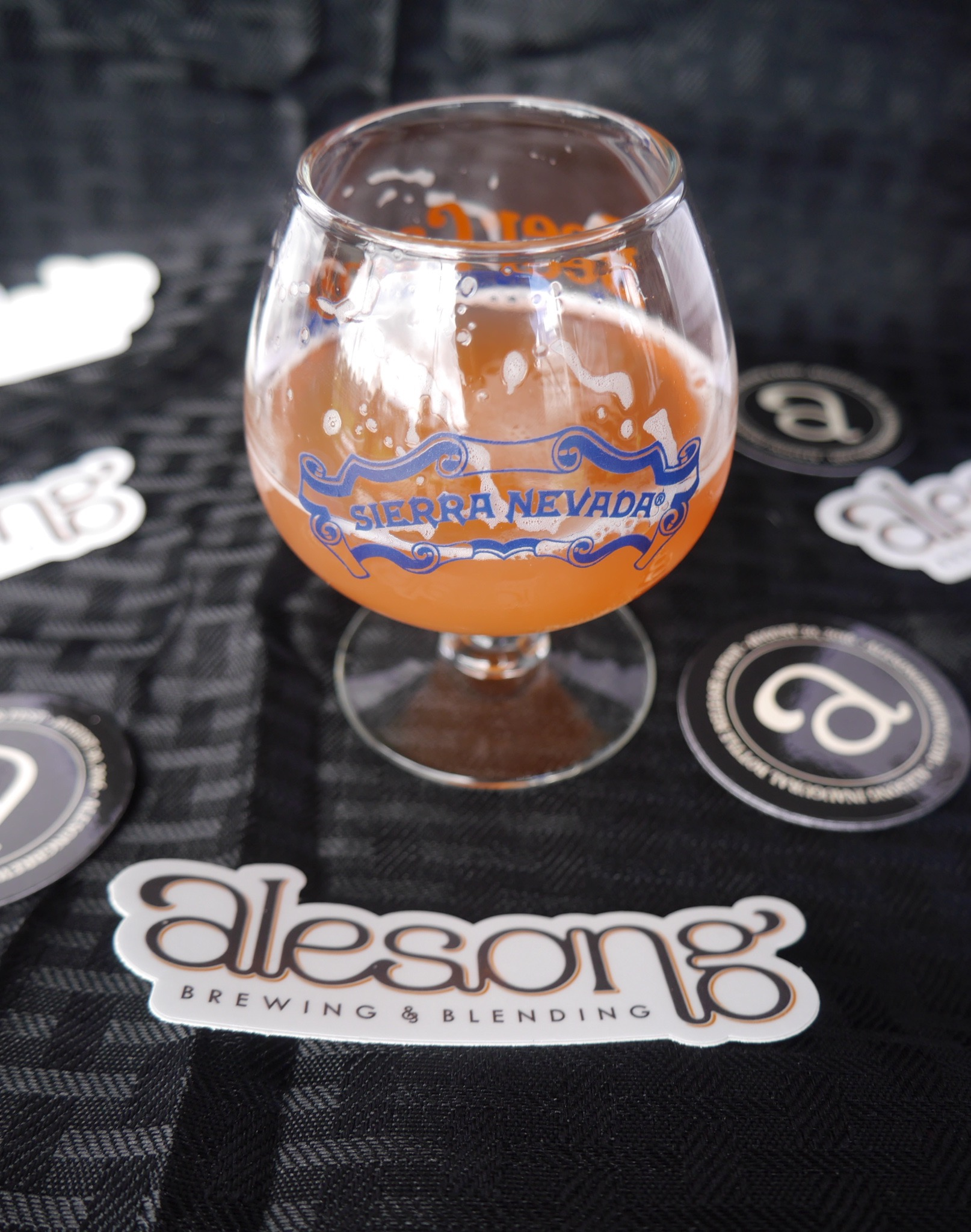 Alesong Strawberry Gose at Sierra Nevada Beer Camp Across America Festival in Seattle. (photo by Cat Stelzer)
