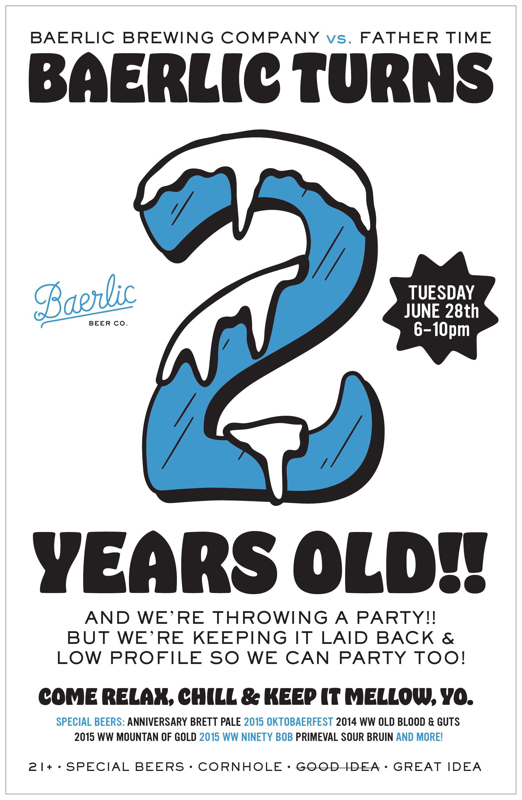 Baerlic 2nd Anniversary Party