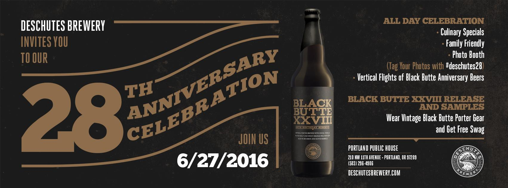 Deschutes 28th Anniversary Celebration - Portland