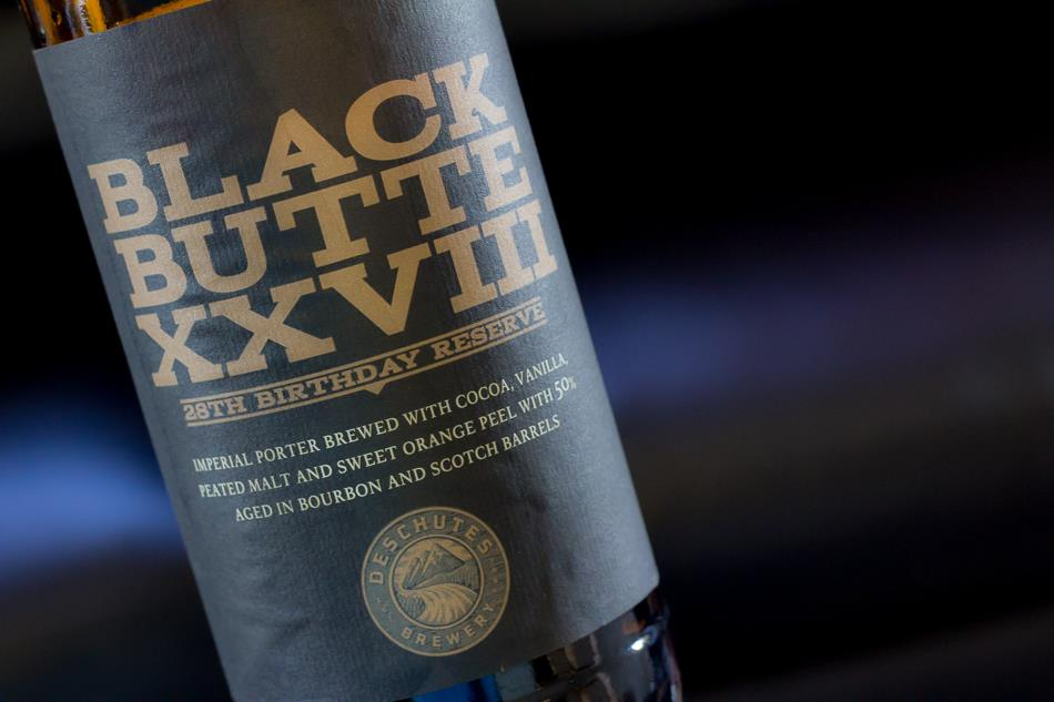 Deschutes Brewery Black Butte XXVIII - 28th Anniversary Reserve. (image courtesy of Deschutes Brewery)