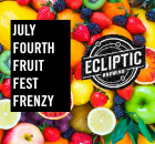 Ecliptic Brewing July Fourth Fruit Fest Frenzy