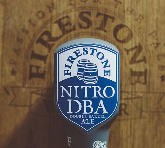 Firestone Walker Nitro DBA taphandle. (image courtesy of Firestone Walker)