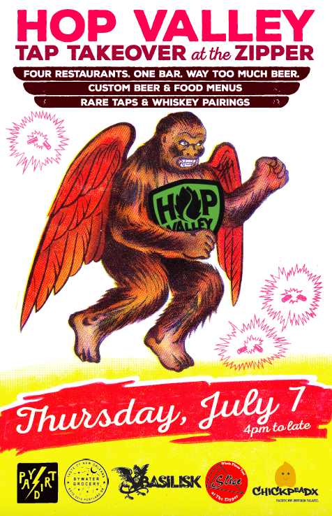 Hop Valley Tap Takeover at the Zipper