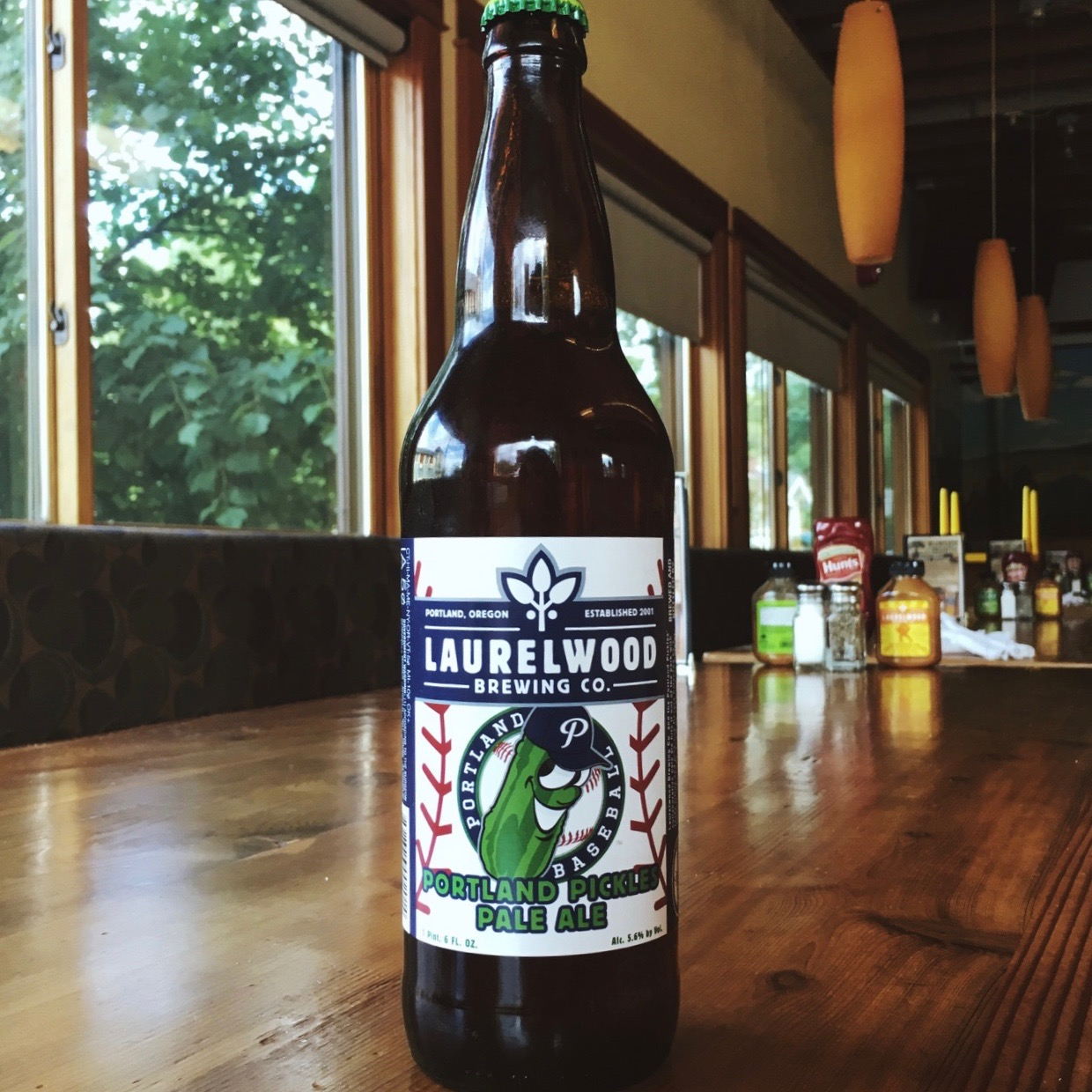 Laurelwood brewing teams up with the portland pickles on for Laurel wood
