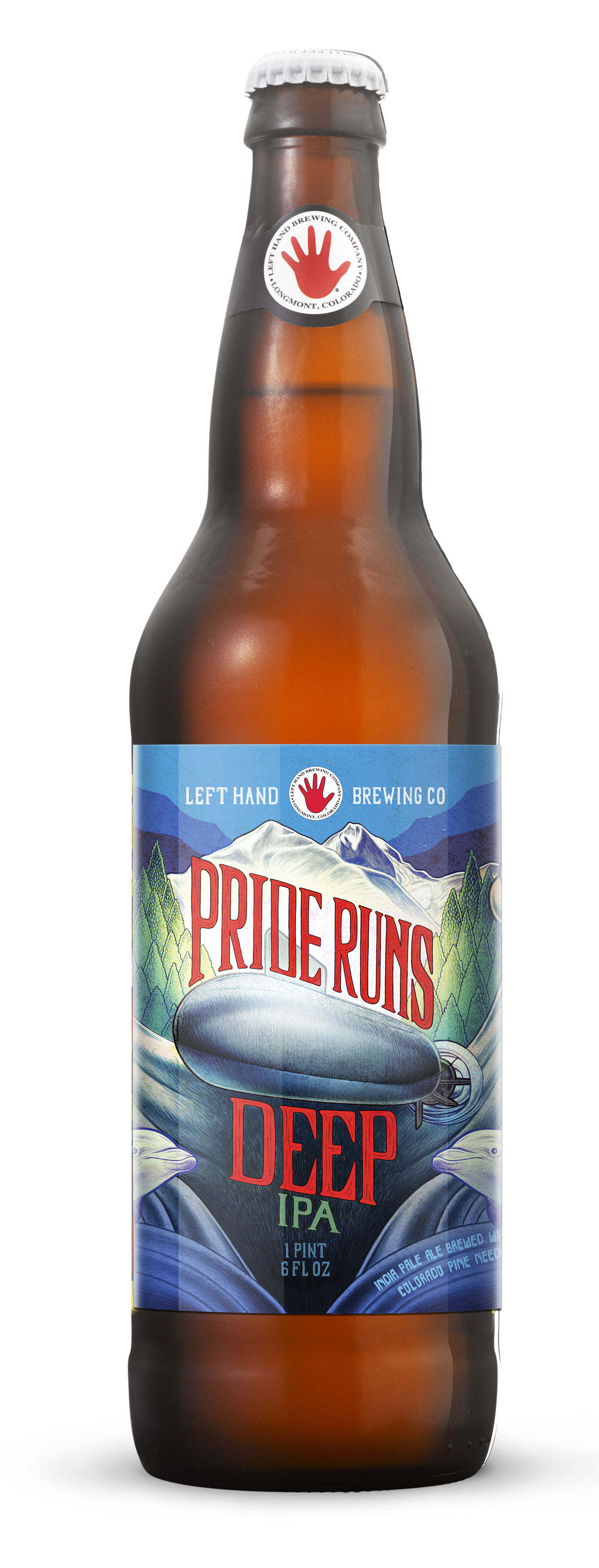 Left Hand Brewing - Pride Runs Deep - bottle