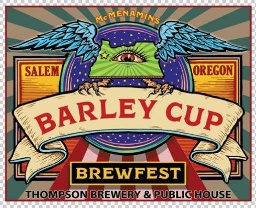 McMenamins Barley Cup - Thompson Brewery & Public House