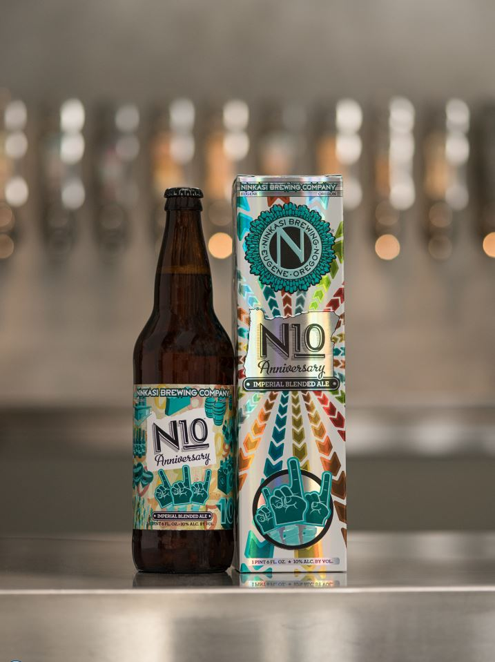 Ninkasi N10 Bottle Box. (image courtesy of Ninkasi Brewing)