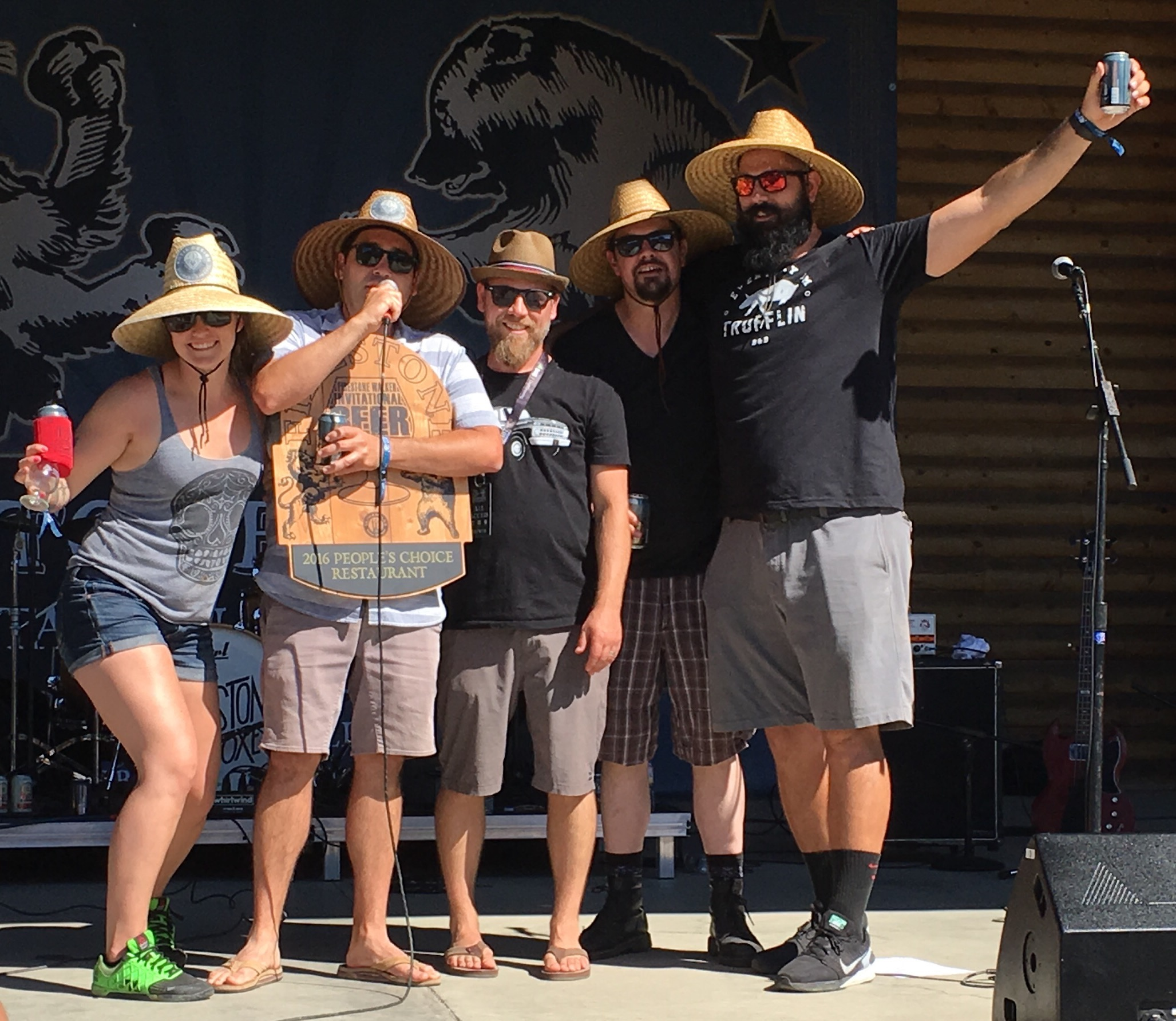 Paso Roble's FishGaucho was voted People's Choice Restaurant at the 2016 Firestone Walker Invitational Beer Fest.
