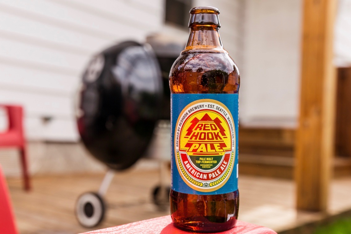 Redhook American Pale Ale. (image courtesy of Redhook Brewery)