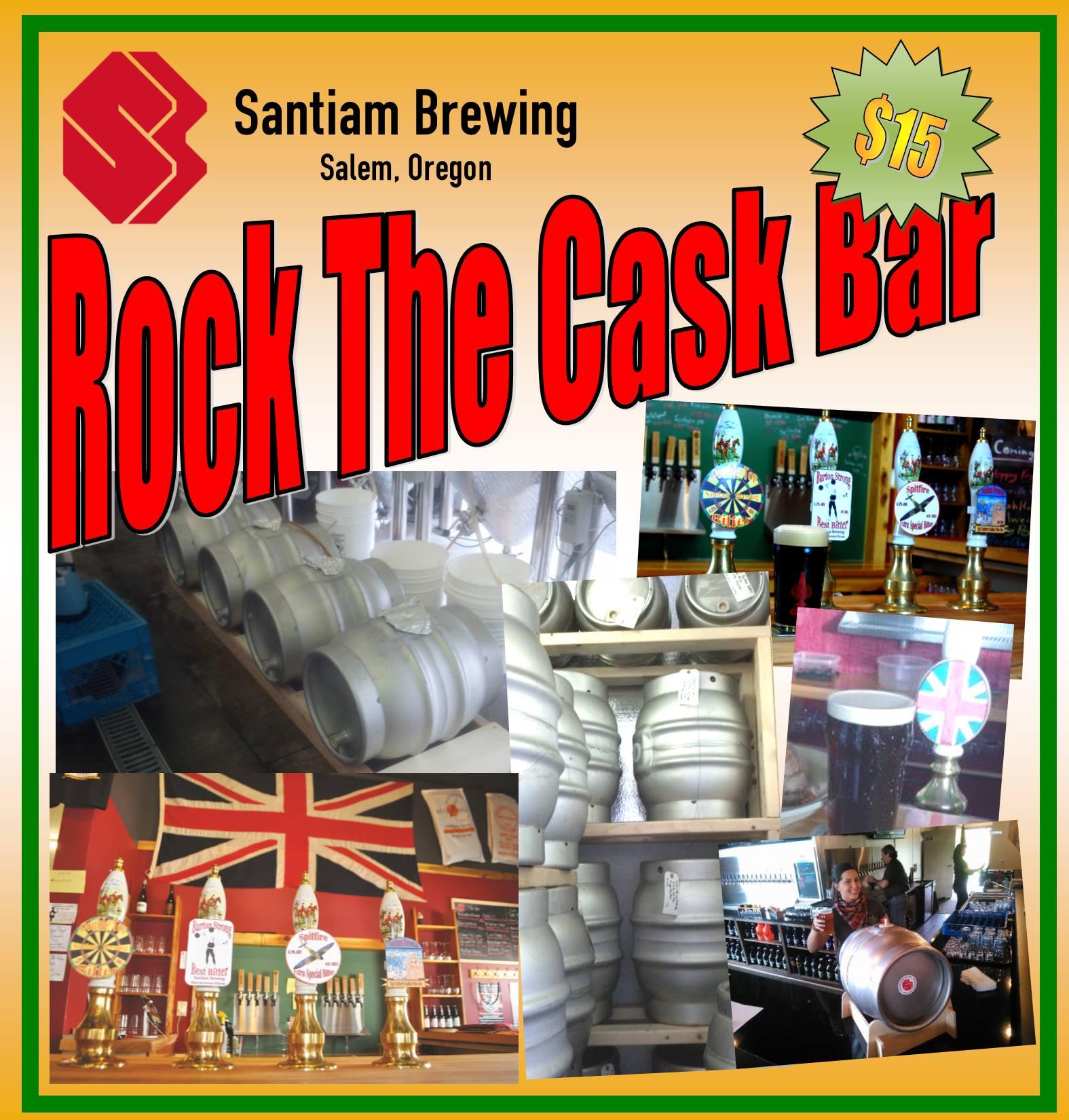 Santiam Brewing Rock The Cask Bar 2016