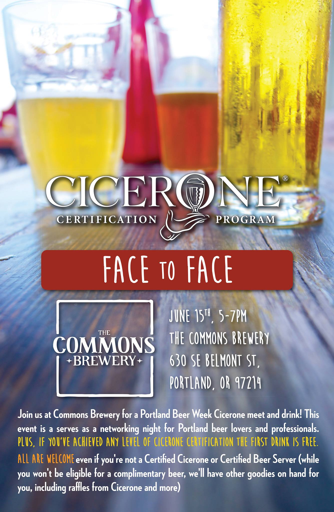 The Commons Brewery Hosts Cicerone Face To Face