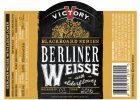 Victory Berliner Weisse Elderflower Label