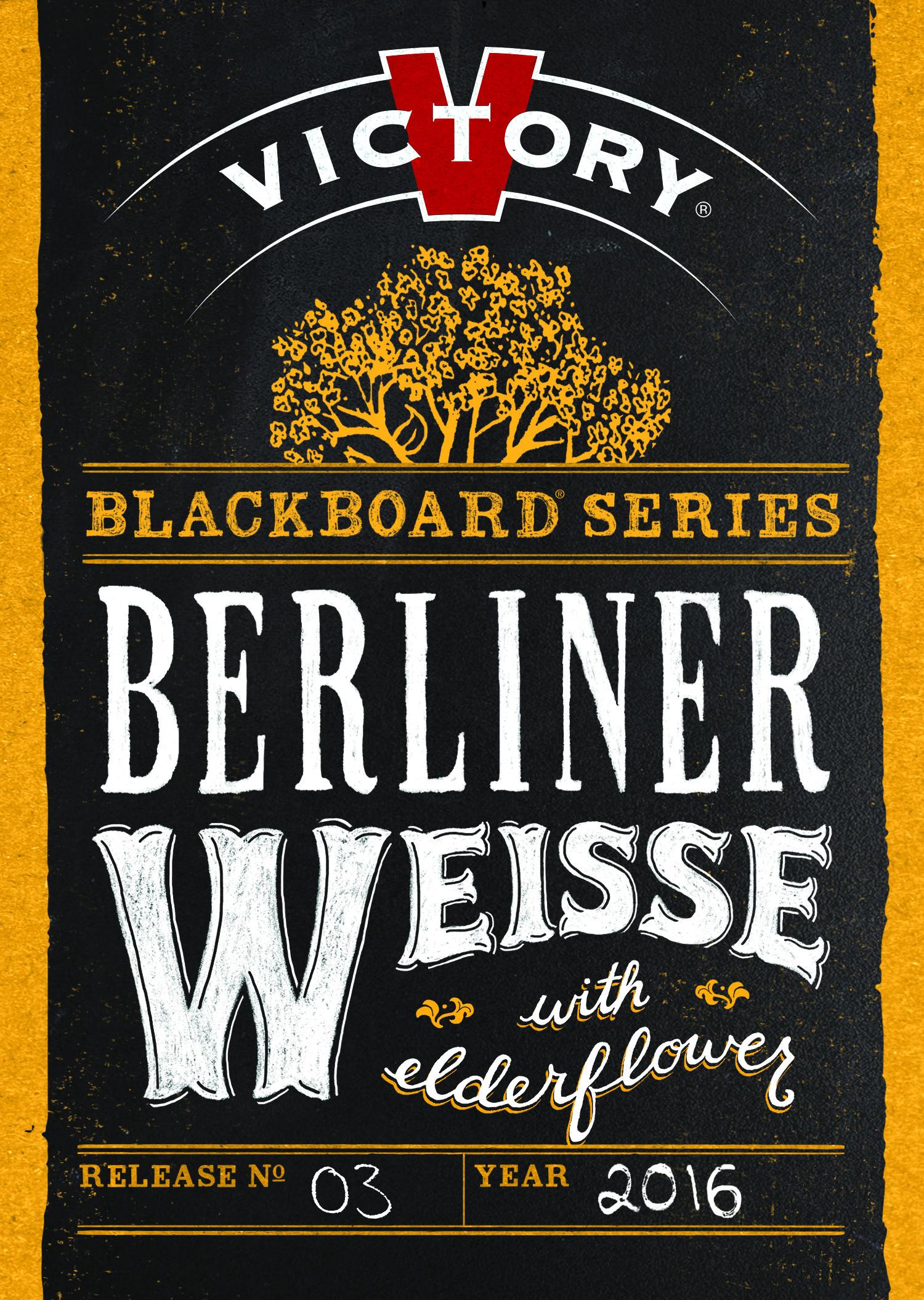 Victory Blackboard Berliner Weisse Tap Sticker