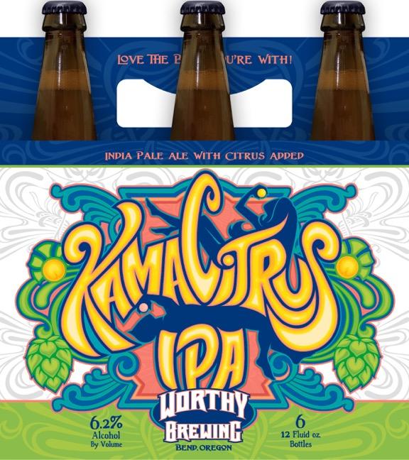 Worthy Brewing Kama Citrus IPA