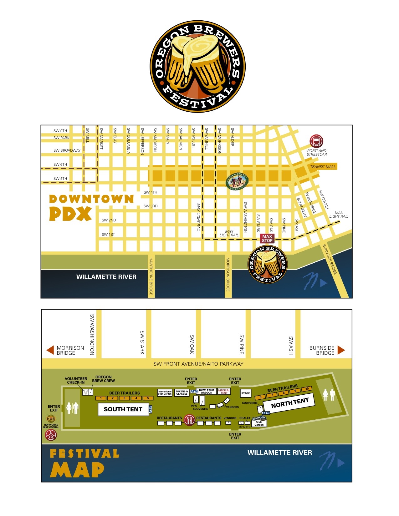 2016 OBF Map