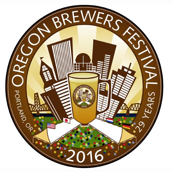 2016 Oregon Brewers Festival Logo