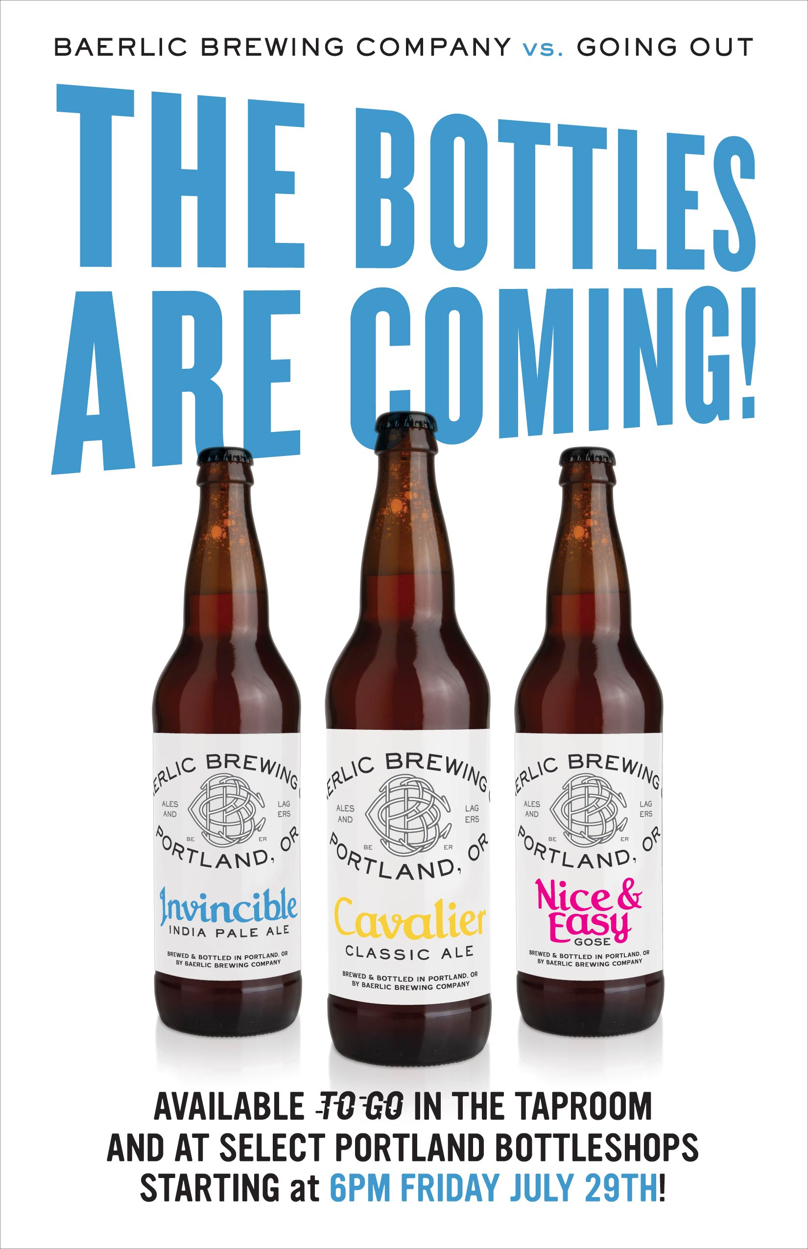 Baerlic Brewing 22oz Bottles