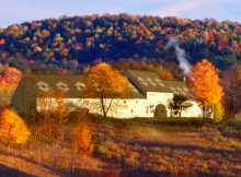 Brewery Ommegang during the fall. (image courteys of Brewery Ommegang)