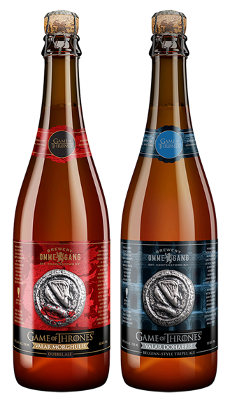 Brewery Ommegang's Game of Thrones Beers - Valar Morghulis and Valar Dohaeris