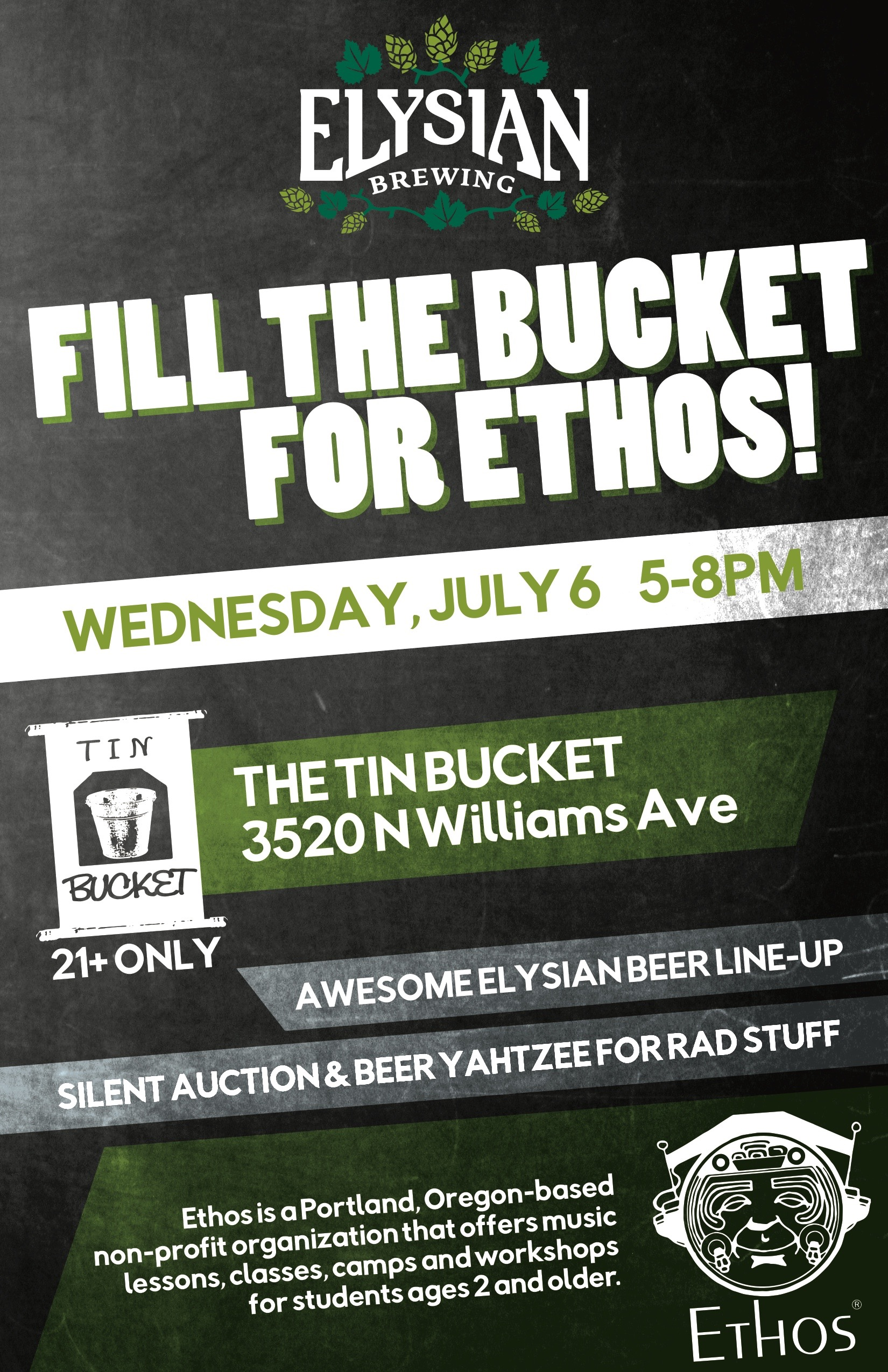 Elysian Fill The Bucket at Tin Bucket