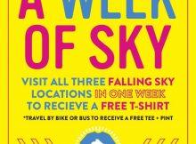 Falling Sky For A Week postcard