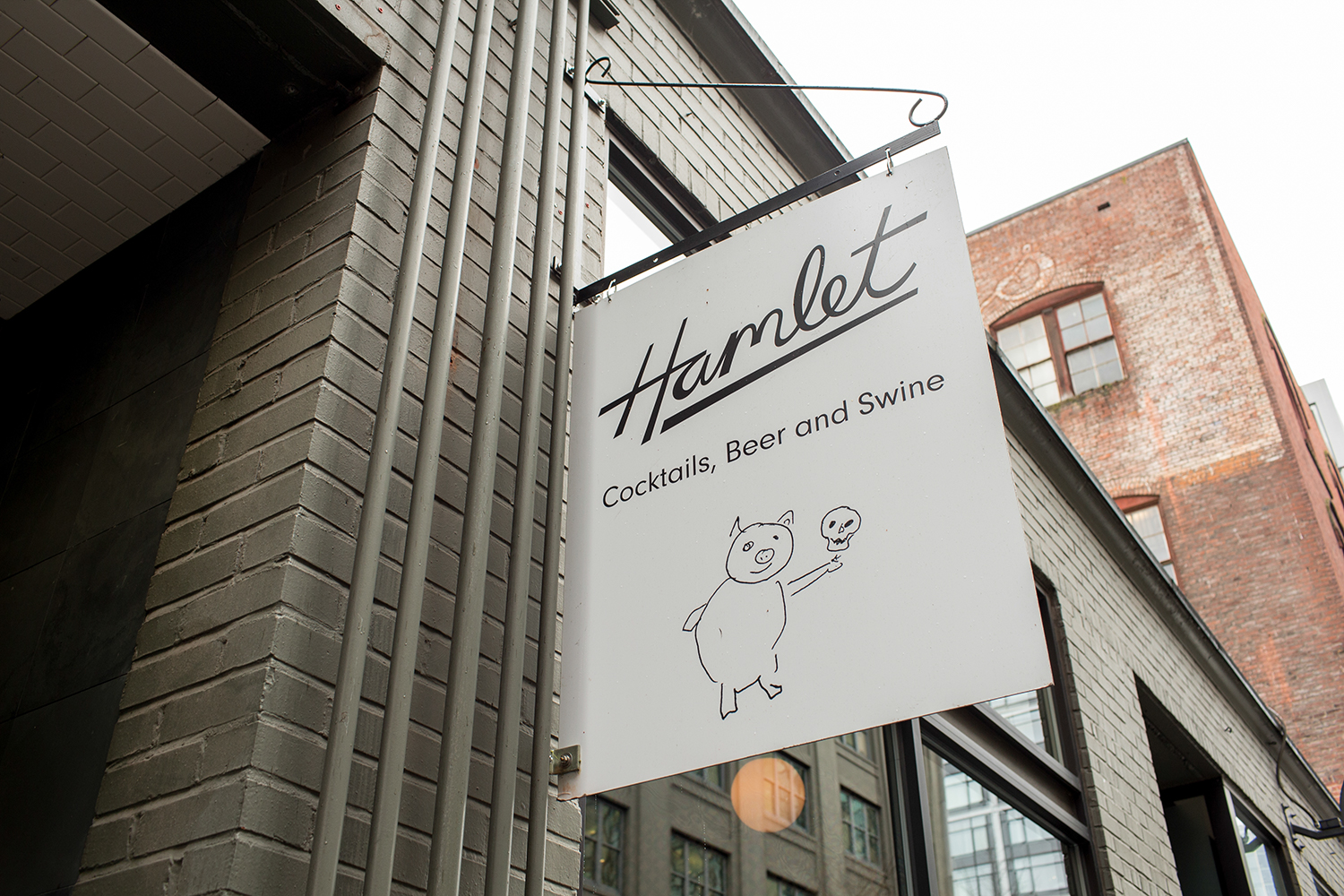 Hamlet sign along NW 12 Avenue. (image courtesy of Hamlet)