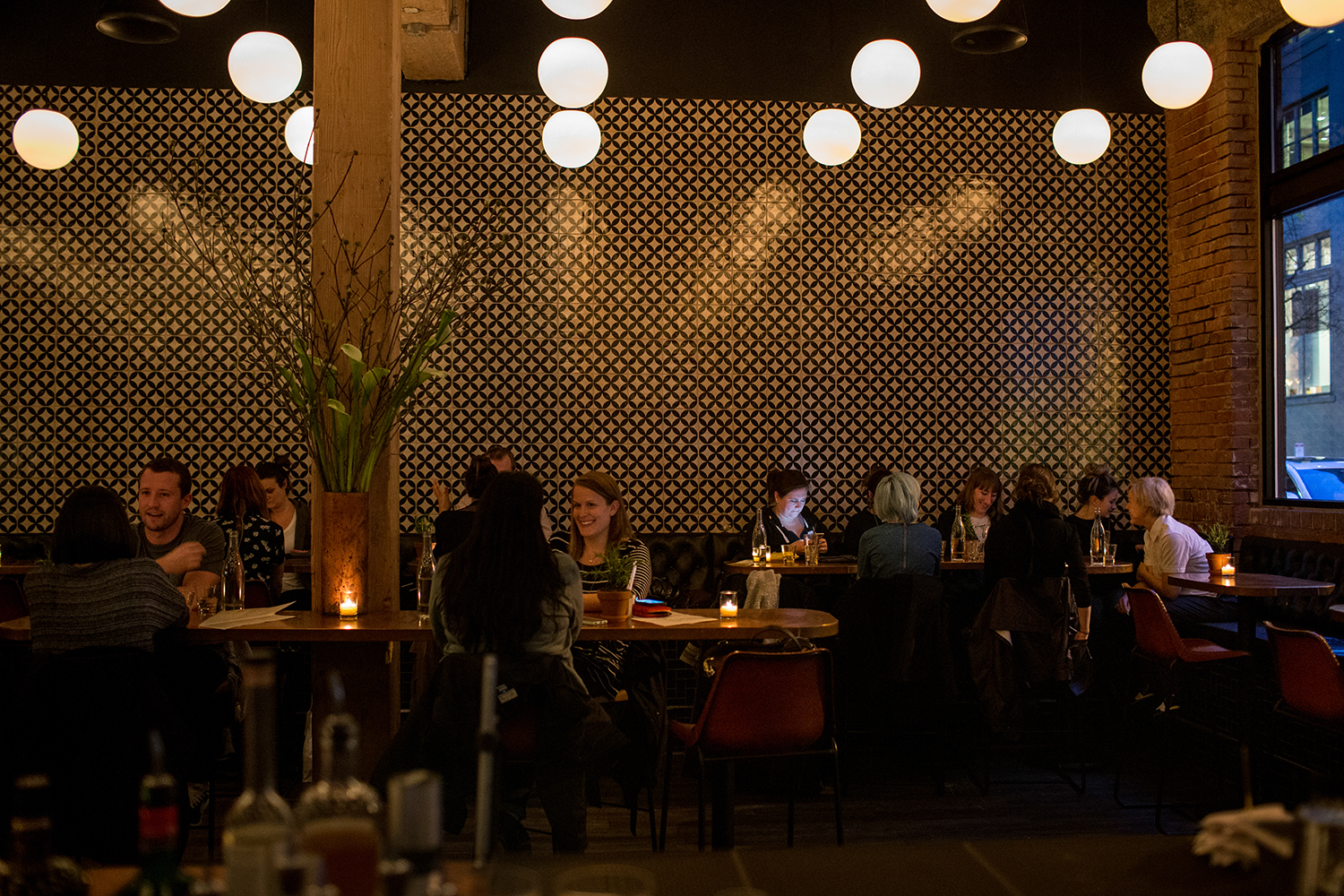 Inside Hamlet in Portland's Pearl District. (image courtesy of Hamlet)