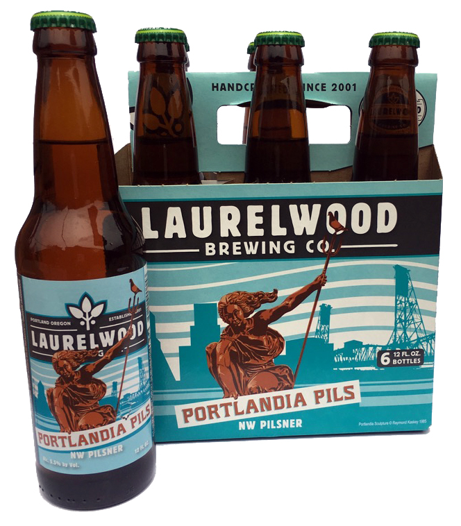 Laurelwood Brewing Co. Portlandia Pils Sixpack 2016
