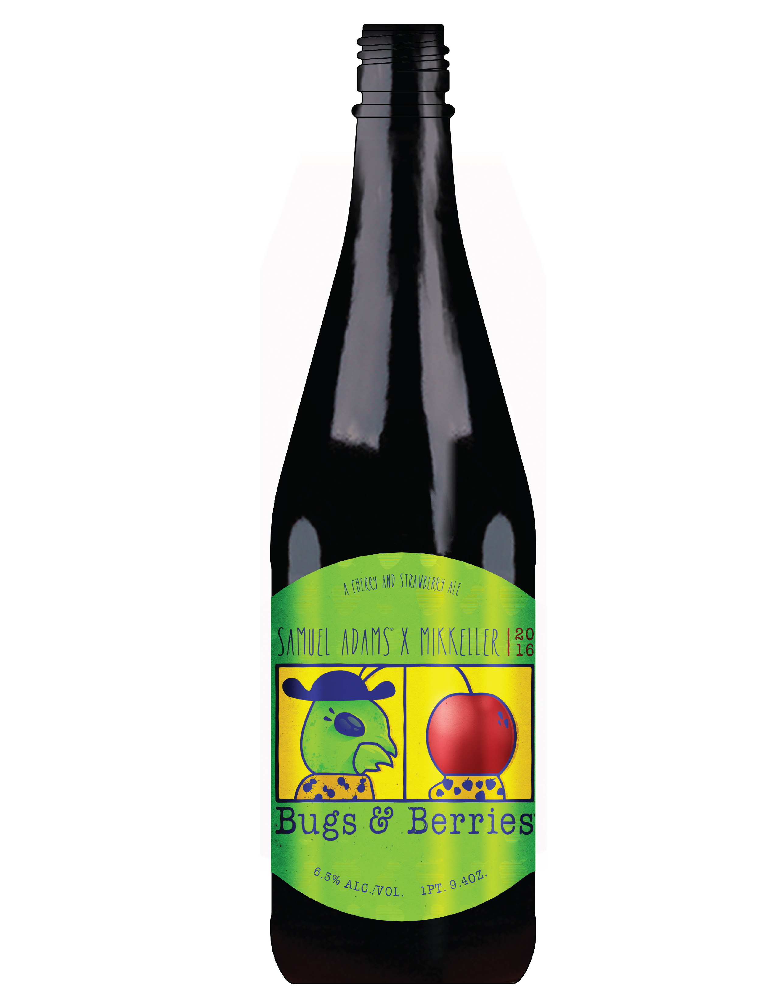 Mikkeller & Samuel Adams Collaboration - Bugs and Berries