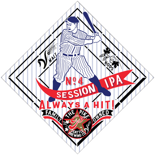 Pike No.4 Session IPA Logo