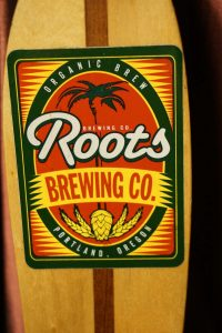 The now defunct Roots Organic Brewing