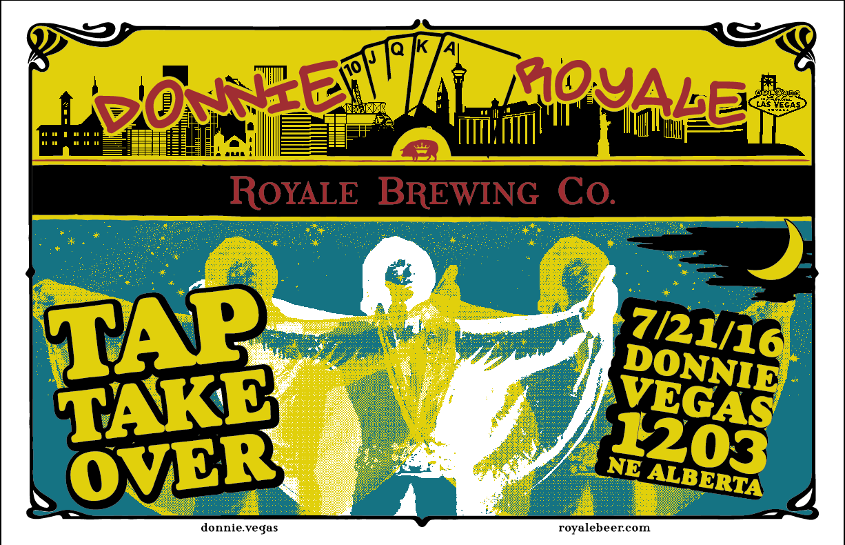 Royale Brewing Night at Donnie Vegas