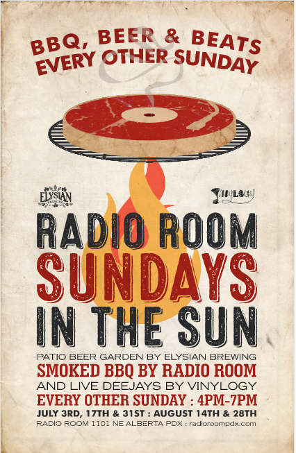 Sundays in the Sun at Radio Room with Elysian