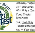 The Bier Stein Invitational Beer Fest