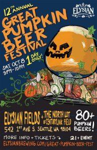12th Annual Elysian Great Pumpkin Beer Festival