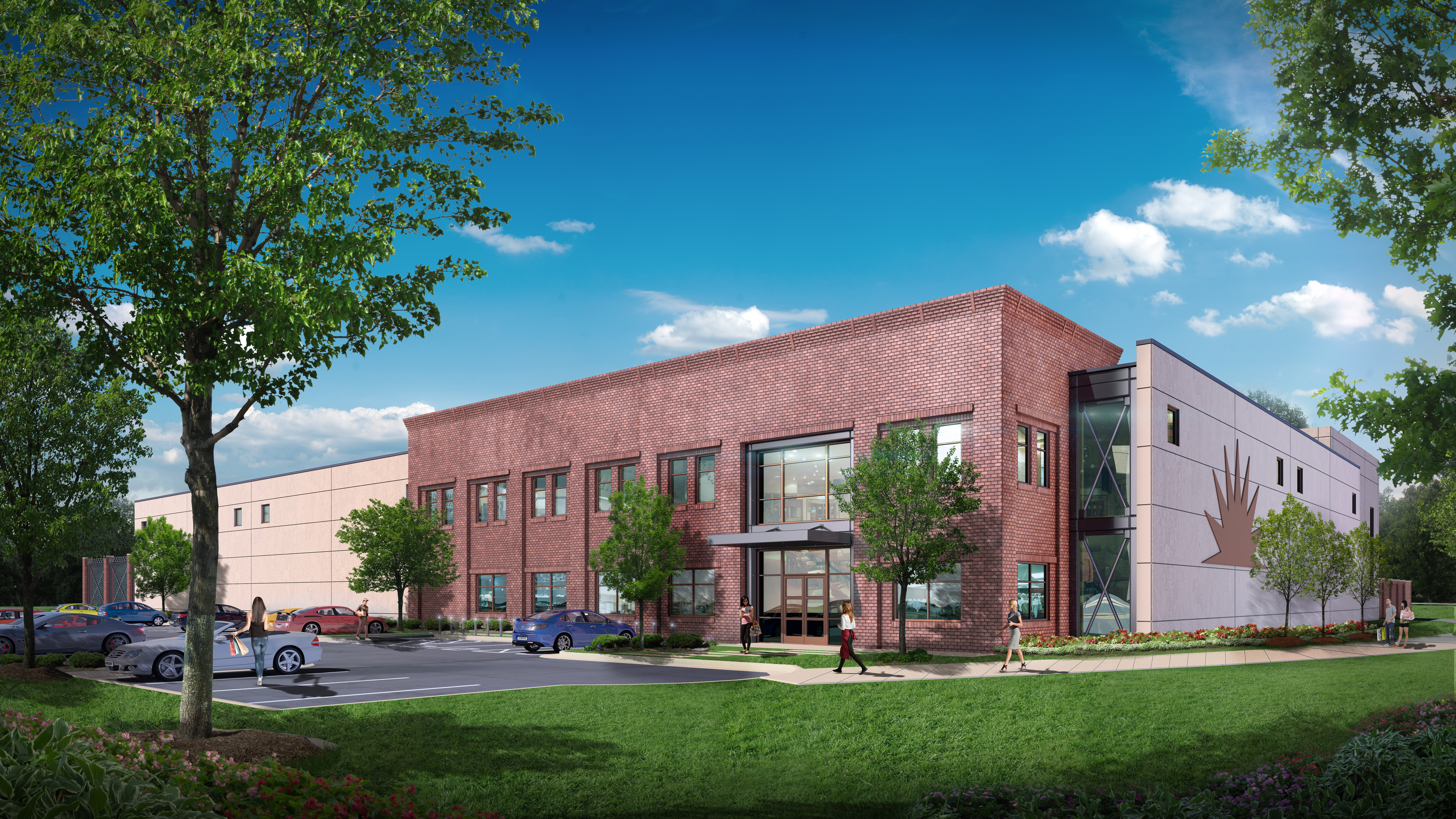 A rendering of the new Virginia Beach, Virginia location of Green Flash Brewing. (image courtesy of Green Flash Brewing)