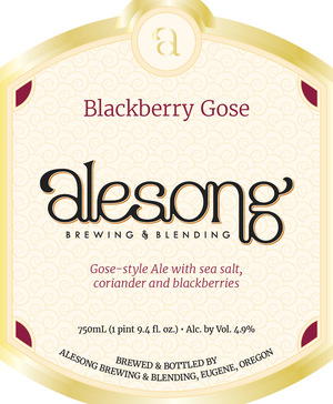 Alesong Blackberry Gose