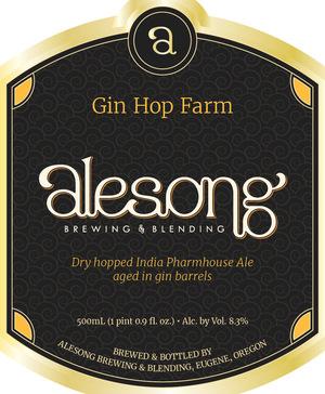 Alesong Gin Hop Farm