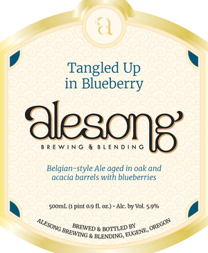 Alesong Tangles Up In Blueberry