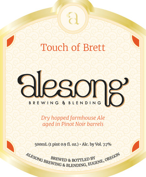 Alesong Touch of Brett