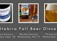Altabira 2016 Fall Beer Dinners