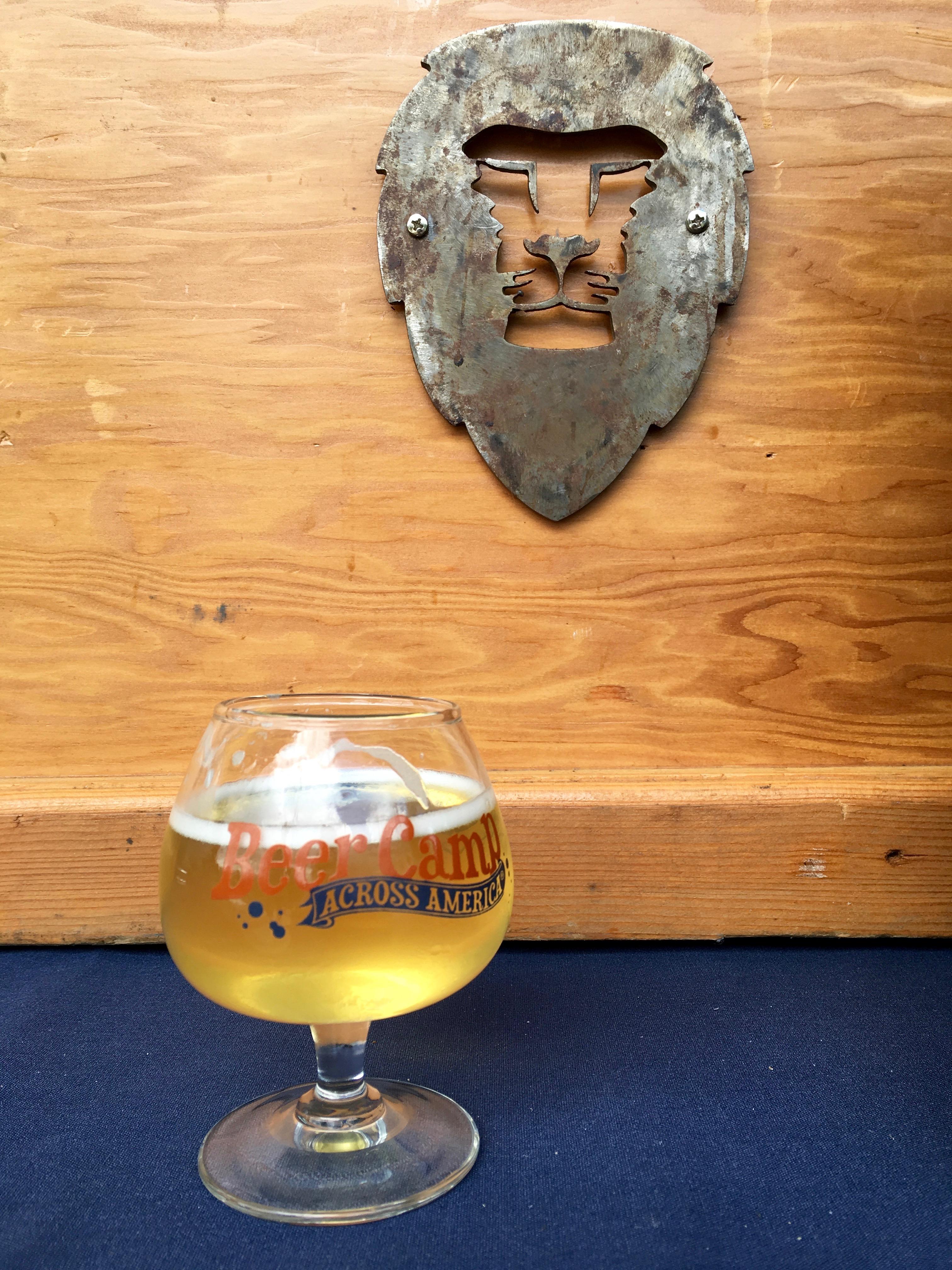 Aslan Brewing Disco Lemonade Berliner Weisse was a highlight at the Sierra Nevada Brewing Beer Camp Across America Festival stop in Seattle, WA in June of 2016. (photo by D.J. Paul)