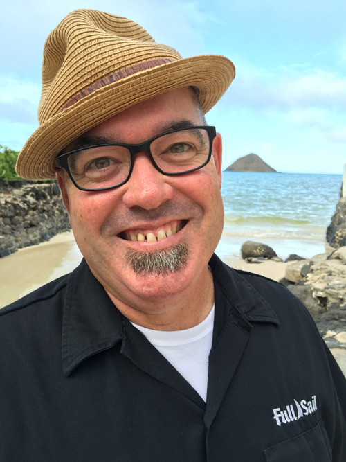 Barney Brennan, Full Sail's Hawaii sales manager. (image courtesy of Full Sail Brewing)