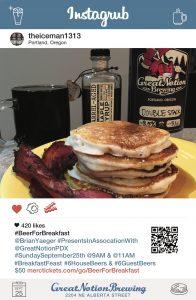 Beer For Breakfast Poster