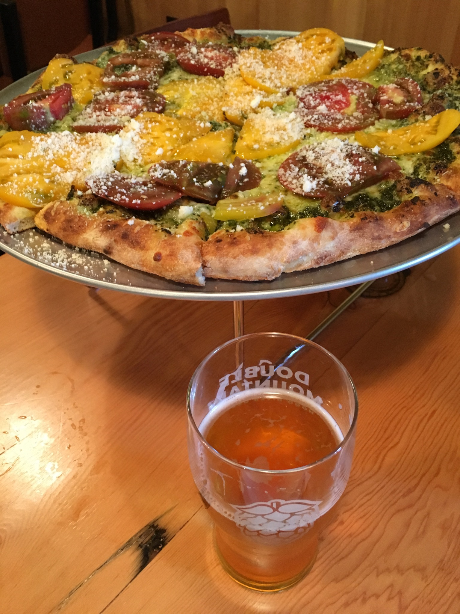 Double Mountain Taproom in season Heirloom Pie. (photo by Cat Stelzer)
