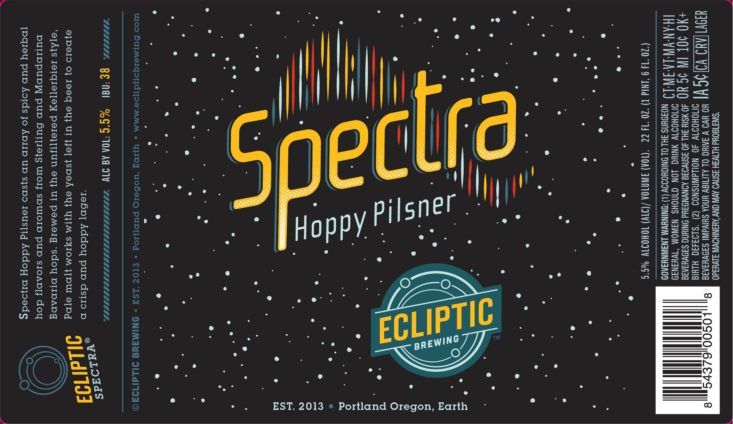 Ecliptic Spectra Hoppy Pilsner