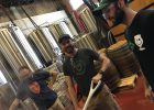 Brewing Field Edge at The Commons Brewery with Wolves & People Farmhouse Brewery. (image courtesy of The Commons Brewery)